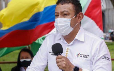 """""""Todos Somos Pueblo"""" respaldamos la protesta pacífica y rechazamos los hechos de vandalismo: Jhon Rojas Gobernador de Nariño"""