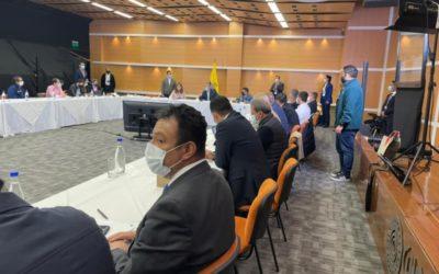 Ante Presidente de Colombia Gobernador planteó situación de Nariño
