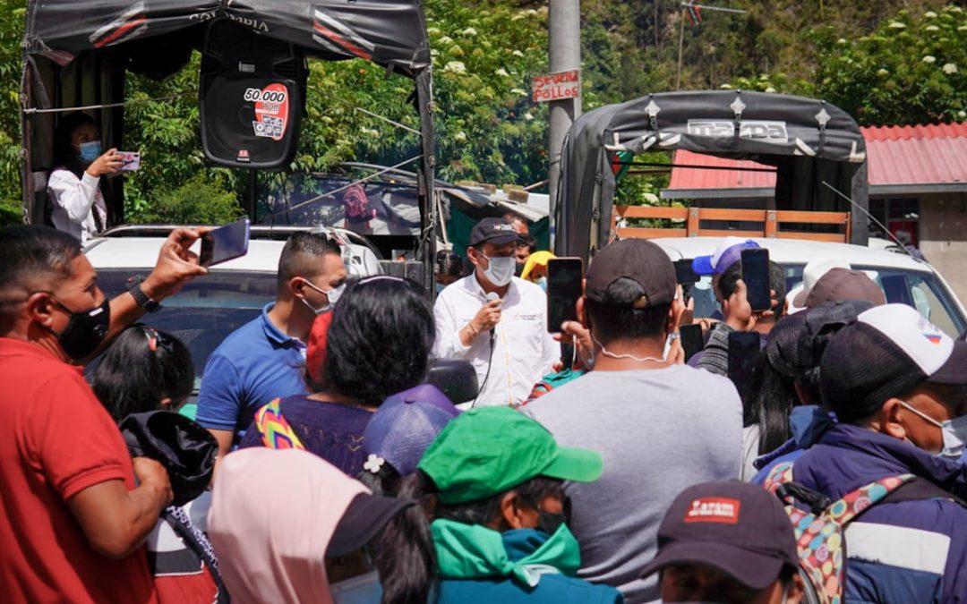 Gobernador de Nariño hace llamado al Gobierno Nacional para que se atienda paro en el Departamento