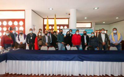 Gobernador y gremios expusieron situación de Nariño ante Ministerio de industria, Comercio Turismo