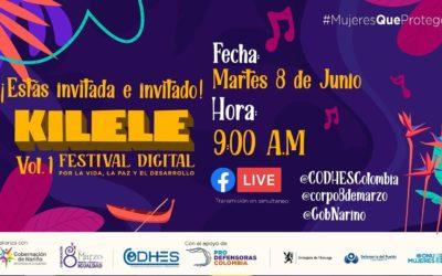 Kilele, festival digital por la vida, la paz y el desarrollo