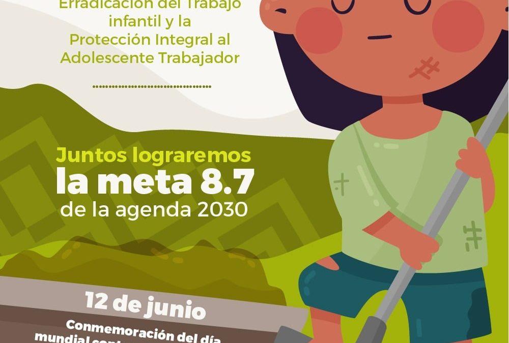 La Gobernación de Nariño se une a las estrategias y conmemoración del 'Día internacional de erradicación del trabajo infantil'