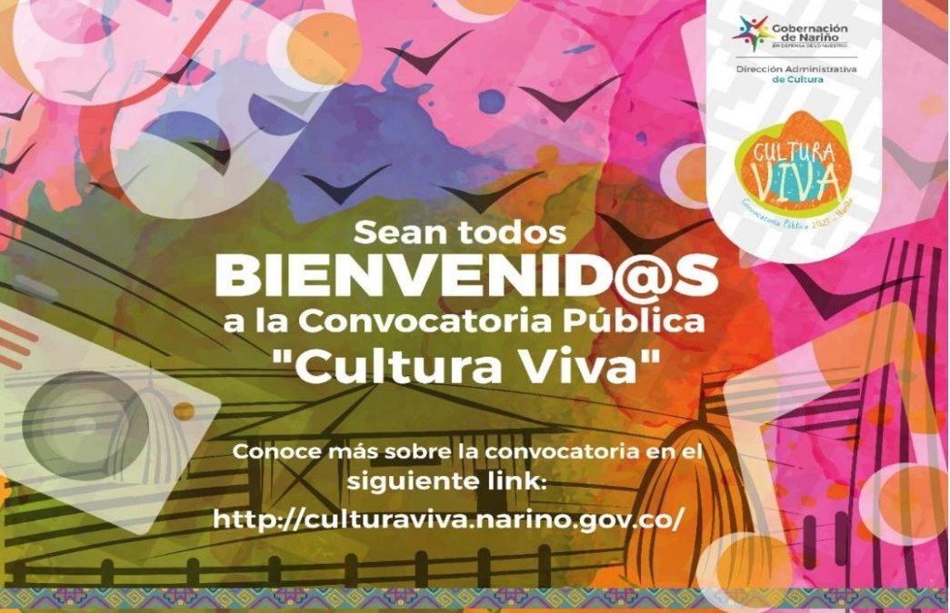 Convocatoria Pública Cultura Viva ya tiene cerca de 300 inscritos