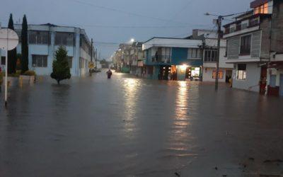 Emergencia por fuertes lluvias en Nariño