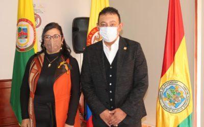 Martha Sofía González Insuasti toma posesión como nueva rectora de la Universidad de Nariño
