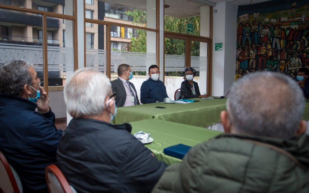 En Nariño continúan diálogos con diferentes sectores sociales