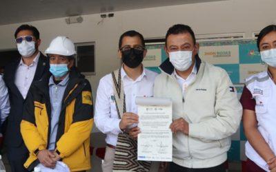 Gobernación de Nariño aporta $5.000 millones para culminar Hospital de La Cruz Nariño