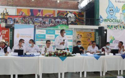 Gobernador de Nariño acompañó sesión de la Asamblea en Municipio de La Cruz