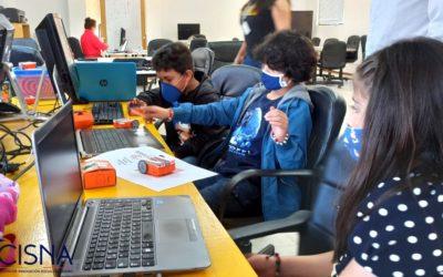 Niños y niñas se preparan para representar a Nariño en competencias internacionales de robótica