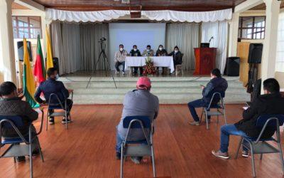 Alcaldes de seis municipios conocieron metodología de asignación de cupos de combustibles
