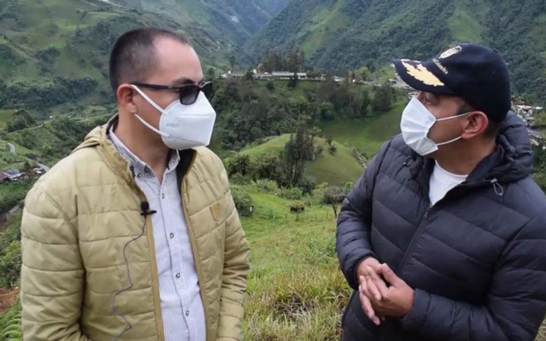 Gobernación de Nariño atiende emergencia causada por lluvias en Puerres
