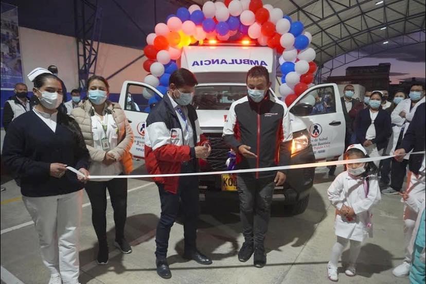 Gobernación de Nariño entregó ambulancias en Ipiales, Pupiales y Guachucal