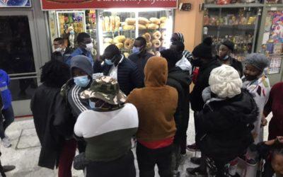 1.500 migrantes haitianos podrán continuar su tránsito desde Nariño hacia el interior del país