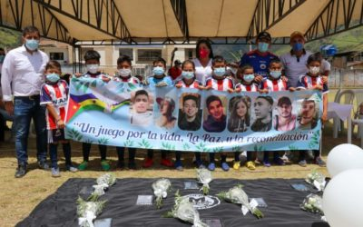 Nariño rinde homenaje a las víctimas del 15 de agosto en Samaniego