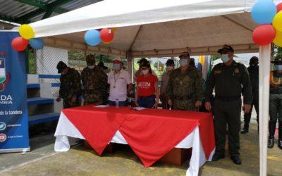 Se realizó jornada de atención integral para población vulnerable del corregimiento de Candelillas en el municipio de Tumaco