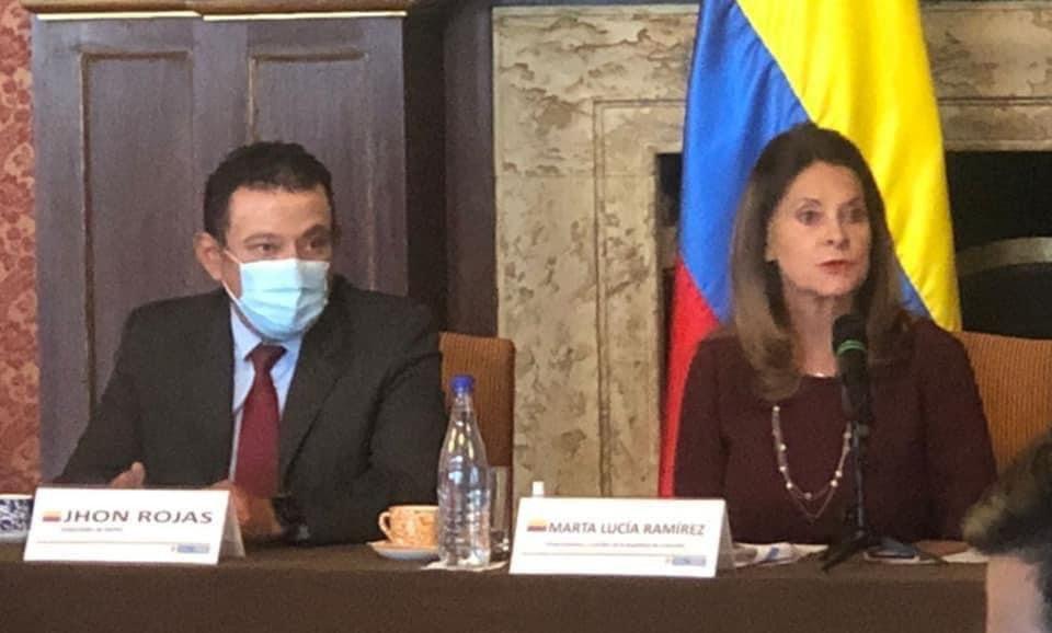 Gobernador de Nariño y gremios de la frontera se reunieron con Vicepresidenta y Canciller de Colombia