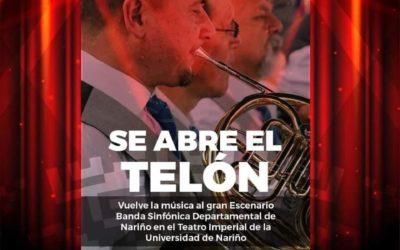 Banda Sinfónica Departamental de Nariño se presentará en el Teatro Imperial de Pasto