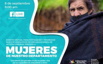 Mujeres Comunales intercambian experiencias exitosas para fortalecer el liderazgo en Nariño