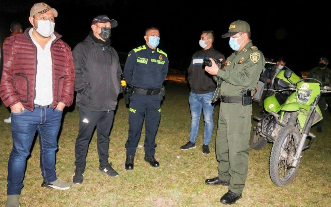 Gobierno Departamental avanza en estrategias para fortalecer la seguridad en el territorio