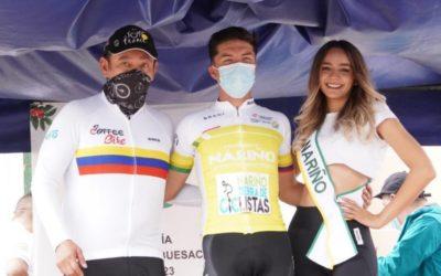 Wilson Peña primer líder de la vuelta a Nariño en su quinta versión