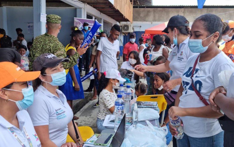 Con brigada interinstitucional más de 600 personas fueron atendidas en Olaya Herrera