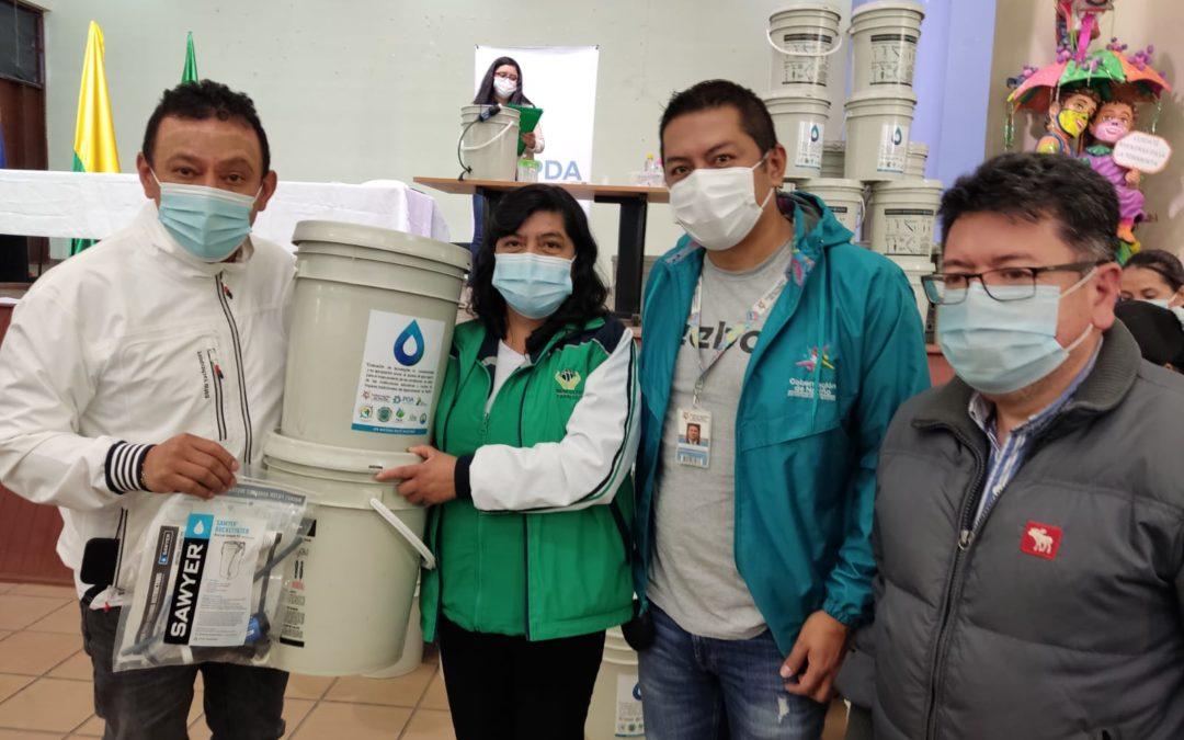 Más de 15 mil niños y 460 hogares comunitarios se beneficiarán de filtros para potabilizar el agua